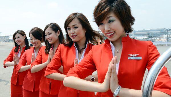 Air Asia Japan's cabin attendants - Sputnik International