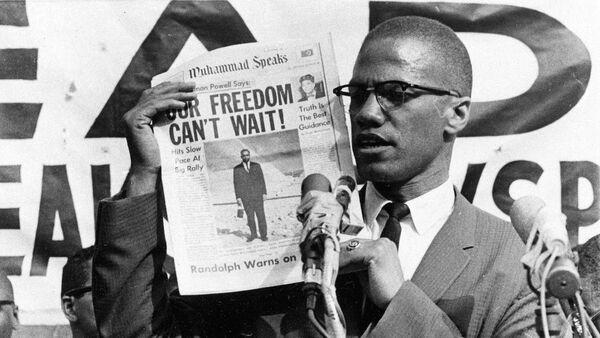 Malcolm X - Sputnik International