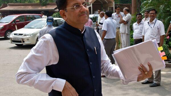 Indian Power and Coal Minister Piyush Goyal - Sputnik International