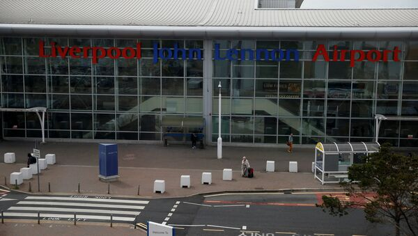 A general view of the outside of the passenger terminal at Liverpool John Lennon Airport in Liverpool, England - Sputnik International