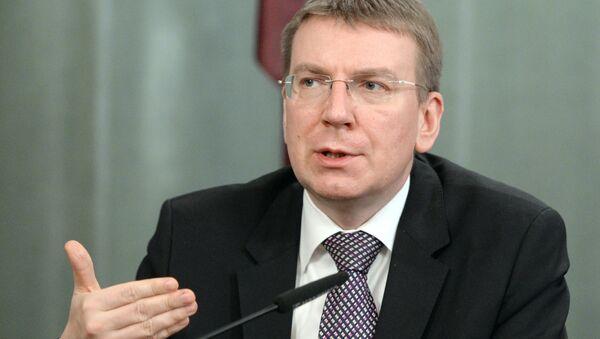 Latvian Foreign Affairs Minister Edgars Rinkevics - Sputnik International