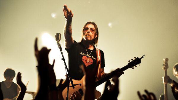 Eagles of Death Metal singer Jesse Hughes - Sputnik International