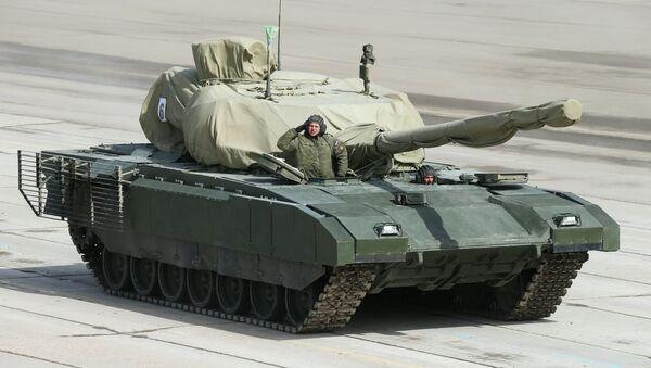 Armata heavy military tracked vehicle platform - Sputnik International