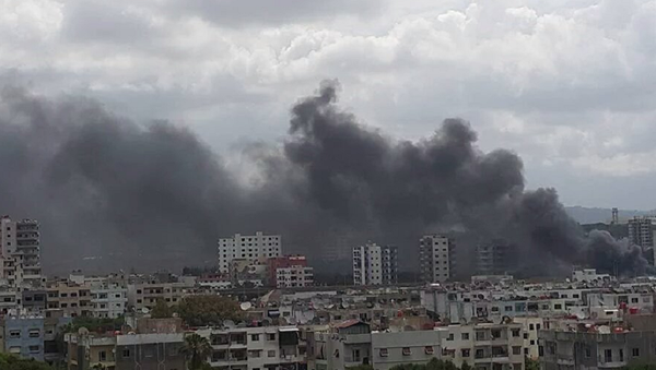 Three Explosions Hit Near Bus Station in Syria's Latakia, Victims Reported - Sputnik International