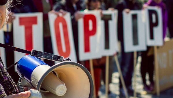 Stop TTIP demo in Bristol, UK - Sputnik International