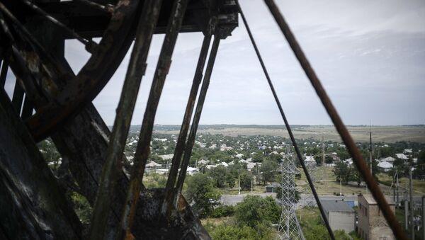 A view of a closed mine in the vicinity of Krasnodon. File photo - Sputnik International