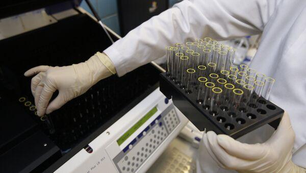 Doping laboratory. File photo - Sputnik International
