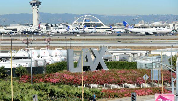Los Angeles International Airport. File photo - Sputnik International