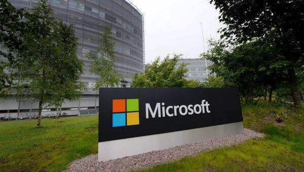 Outside view of Microsoft's Finnish headquarters in Espoo, Finland (File) - Sputnik International