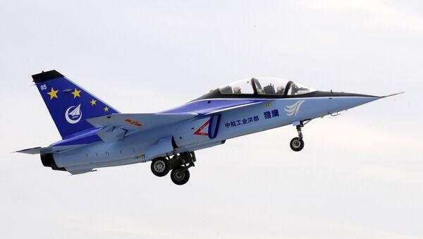 L15-05 trainer plane takes off at Qingyunpu airport in Nanchang - Sputnik International