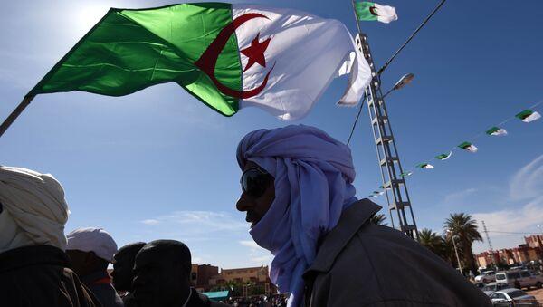Algerian flag (File) - Sputnik International