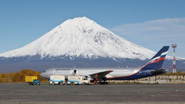 Yelizovo international airport in Petropavlovsk-Kamchatsky - Sputnik International
