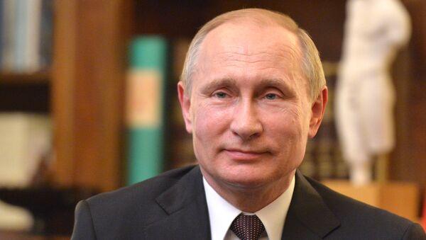 May 27, 2016. Russian President Vladimir Putin during visit to Greece - Sputnik International
