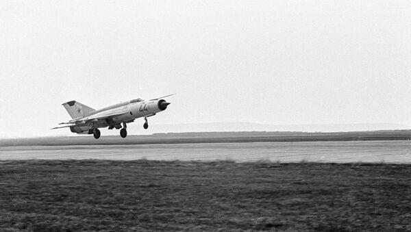 MiG-21 jet fighter. (File) - Sputnik International