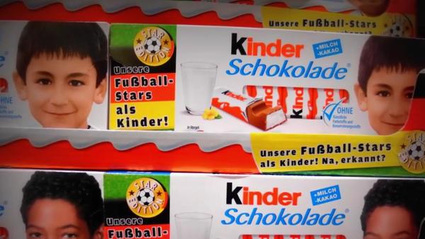Kinder Chocolate - Sputnik International