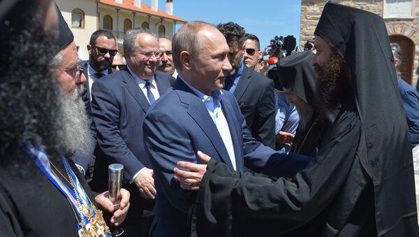 President Vladimir Putin's visit to Greece. Day Two - Sputnik International