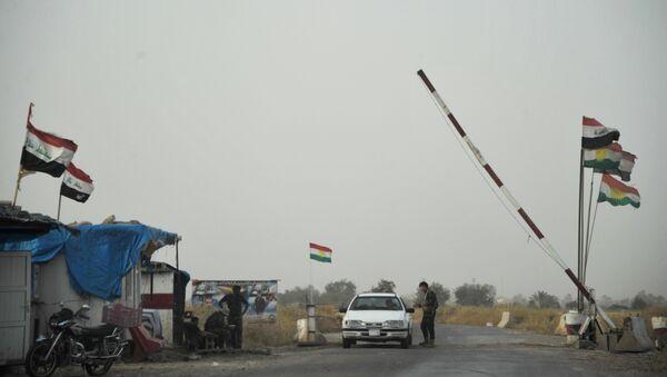 Iraqi Kurdistan servicemen in Kirkuk province, Iraq - Sputnik International