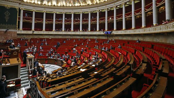 General view of the France's National Assembly, lower house of Parliament  in Paris, France - Sputnik International