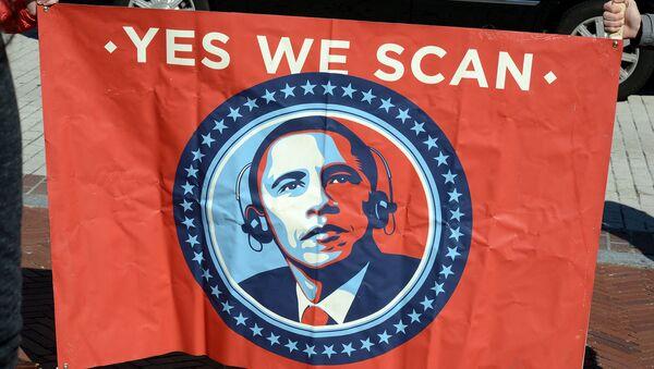 2013 DC Rally Against Mass Surveillance 12  Washington DC, Saturday October 26, 2013. - Sputnik International