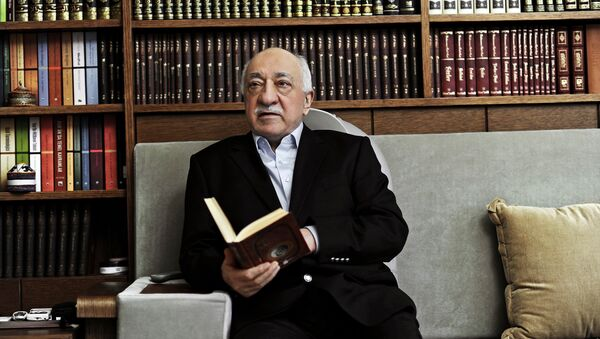 FILE – In this March 15, 2014 file photo, Turkish Muslim cleric Fethullah Gulen, sits at his residence in Saylorsburg, Pennsylvania, United States. - Sputnik International