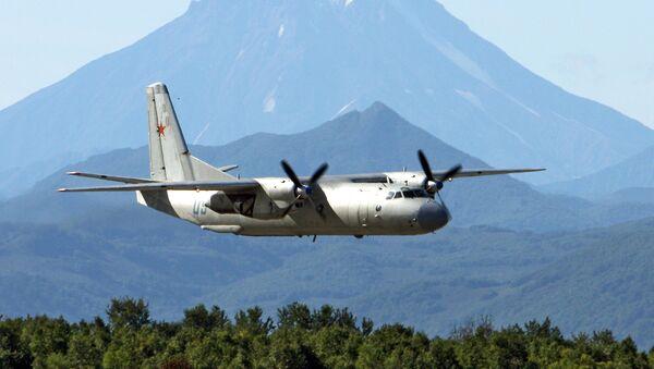The Antonov An-26 twin-engined light turboprop transport aircraft - Sputnik International