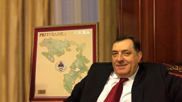 Председник Републике Српске Милорад Додик - Sputnik International