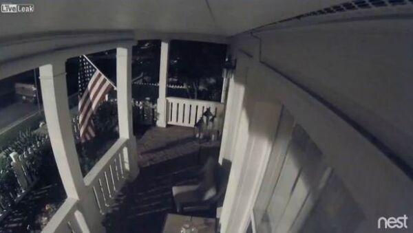 Flag Thieves Get Instant Karma - Sputnik International