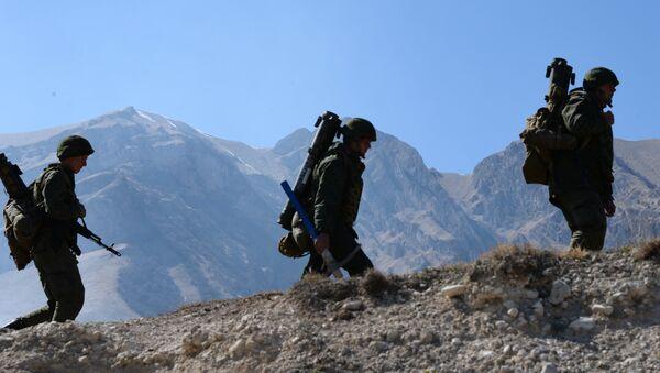 Brigade tactical drill in North Ossetia-Alania - Sputnik International