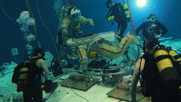 Astronauts train in Zvyozdny Gorodok - Sputnik International