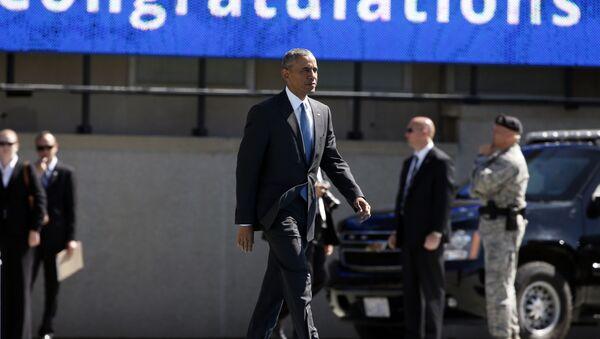 US President Obama preparing for the 2016 Air Force Graduation - Sputnik International