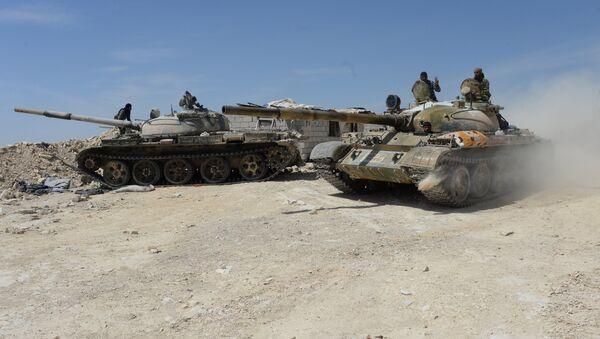 Syrian Army. File photo - Sputnik International