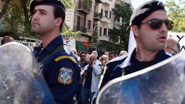 Police officers, Athens - Sputnik International