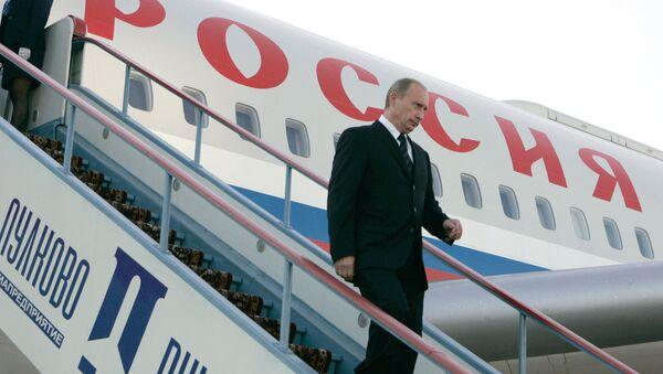 Russian President Vladimir Putin arriving in St. Petersburg. (File) - Sputnik International