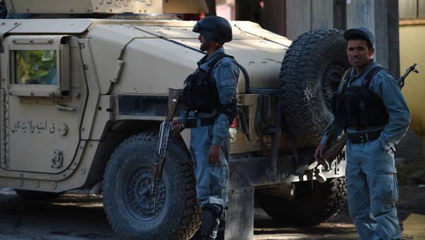 Afghan police. (File) - Sputnik International