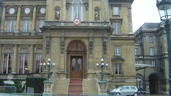 French Foreign Ministry building - Sputnik International