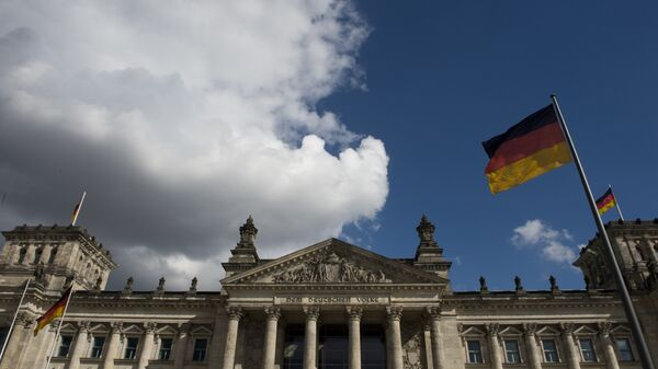 View of the Reichstag building which houses the Bundestag lower house of parliament, in Berlin - Sputnik International