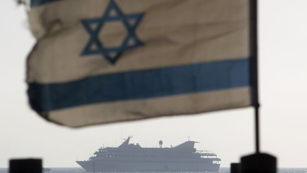 FILE - In this May 31, 2010 file photo the Mavi Marmara ship, the lead boat of a flotilla headed to the Gaza Strip which was stormed by Israeli naval commandos in a predawn confrontation, sails into the port of Ashdod, Israel. - Sputnik International