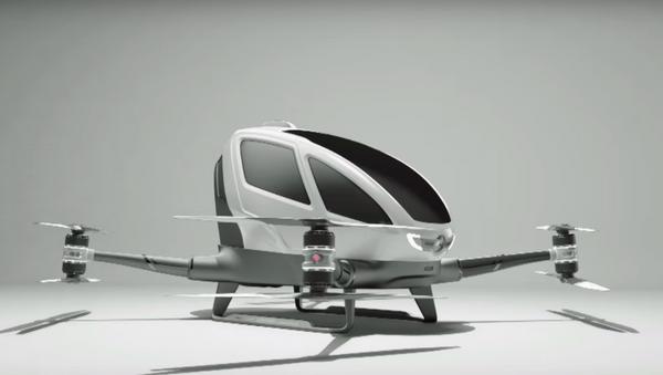 EHang's 184 passenger drone - Sputnik International