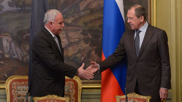 Russian, Palestinian foreign ministers meet in Moscow - Sputnik International
