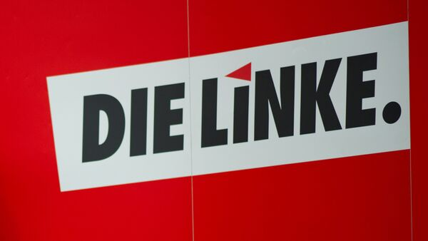 Die Linke party logo - Sputnik International