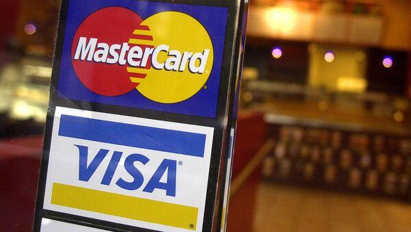 MasterCard and Visa credit cards - Sputnik International