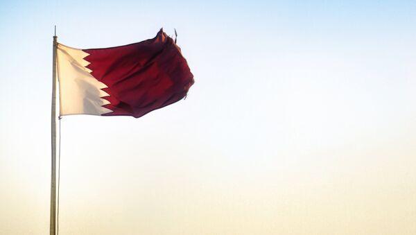 Qatari flag - Sputnik International