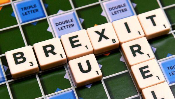 A scrabble board spells out Brexit in Dublin, Ireland May 4 2016. - Sputnik International