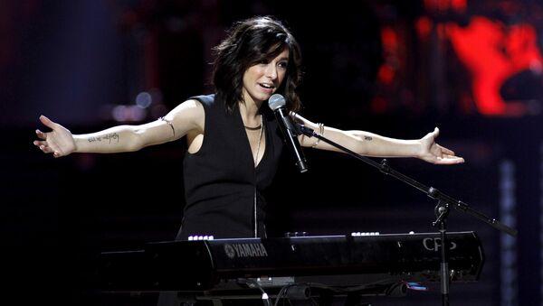 Singer Christina Grimmie (File) - Sputnik International