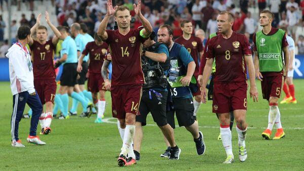 Football. Euro 2016 match England - Russia - Sputnik International