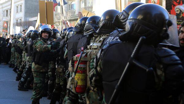 Iranian riot police - Sputnik International