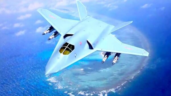 China H-20 Hypersonic Stealth Fighter Bomber Concept - Sputnik International