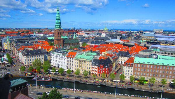 Copenhagen skyline from Christiansborg Slot tower. - Sputnik International