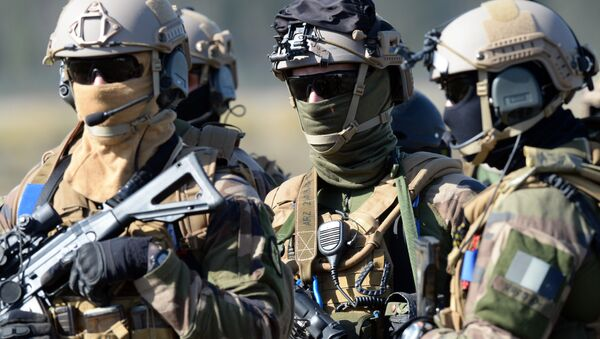 Members of French army special force (file) - Sputnik International