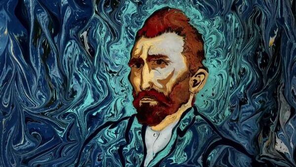 Van Gogh on Dark Water Animation - Sputnik International